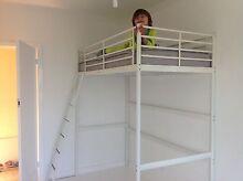 Ikea Svarta Loft single bunk bed Seaford Frankston Area Preview