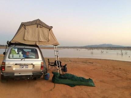 1993 Toyota 80 Series LandCruiser RV + Roof Tent + Awning +++ Robina Gold Coast South Preview