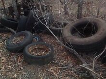 Free tyres, approx 30, some with rims Plainland Lockyer Valley Preview