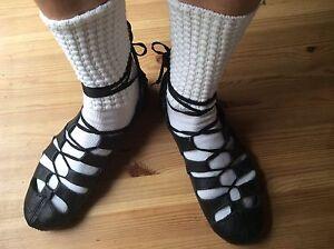 Soft gillies Irish dance shoes