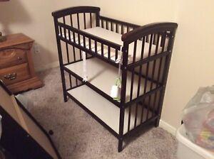 Beautiful crib and change table
