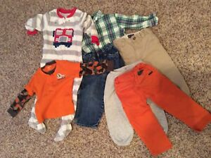 2T Boys Clothes - Browns