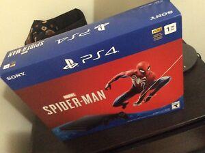 PS4 Slim 1TB Spider-Man sealed
