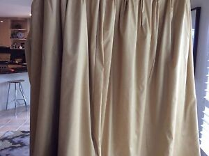 Curtains with matching pelmit for large window 2.85 X 2.35 long West Beach West Torrens Area Preview