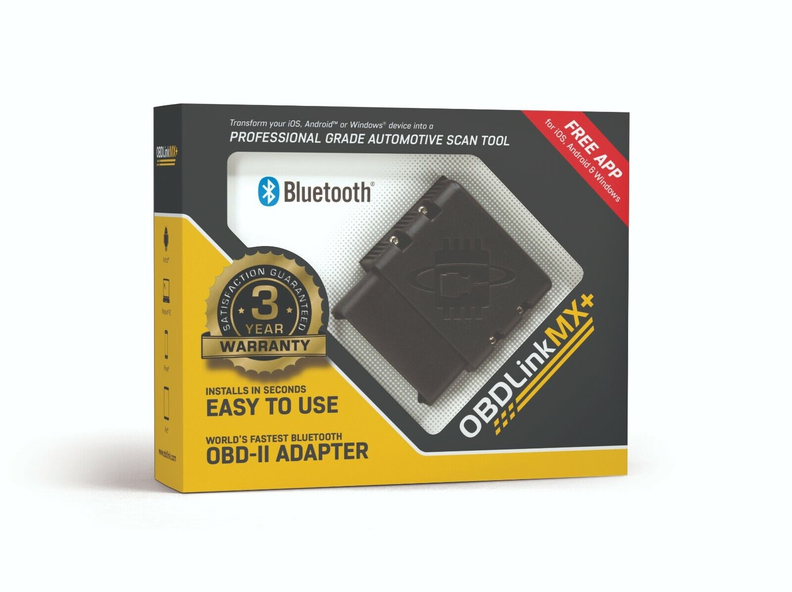 OBDLink MX+ Bluetooth Professional Grade OBD-II Automotive Scan Tool