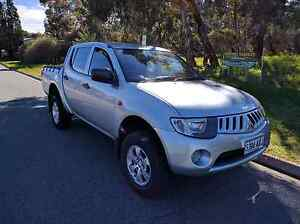 2008 Mitsubishi Triton with 3.2 Turbo Diesel 4x4 5 Speed Manual. Banksia Park Tea Tree Gully Area Preview