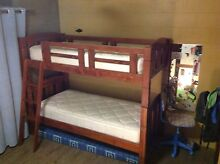 Solid wooden bunk beds Aitkenvale Townsville City Preview
