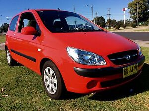 2011 Hyundai Getz Hatch As New Low KM's 4 Cyl 5 speed Bargain Woodbine Campbelltown Area Preview