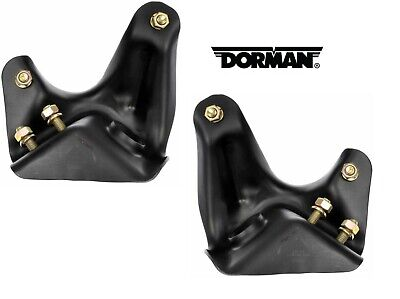 For Ford Bronco F-150 F-250 F-350 Pair Set of 2 Front Radius Arm Brackets Dorman