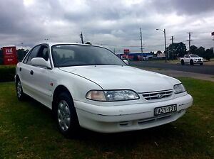 1995 Hyundai Sonata  4 Cyl Auto Low KM's 3 months Rego Sedan Woodbine Campbelltown Area Preview