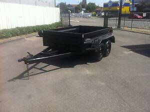 8X5 TANDEM HIGH SIDE TRAILER FREE SPARE WHEEL & 12month rego free Smithfield Parramatta Area Preview