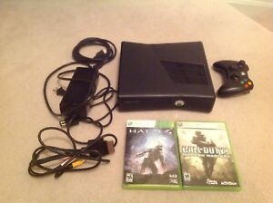 Xbox 360 With Games & Controller