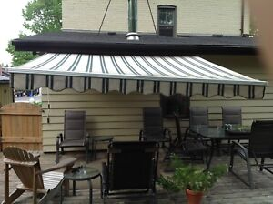 Retractable Manual Patio Awning