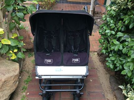 Mountain Buggy Double Pram (NZ made) Brighton Bayside Area Preview
