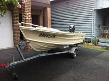 Quintrex 3.5 Fishnipper in absolutely brand new condition Hamilton Newcastle Area Preview
