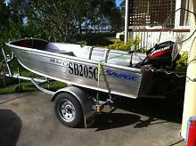 09 TINNY ON TRAILER Gold Coast City Preview