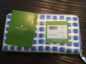 Kate Spade Stamp Dot Wallet Lacey Brand New