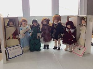 Royalton Collection porcelain dolls