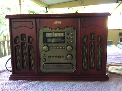 AWA turn table radio cassette CD player. East Lismore Lismore Area Preview