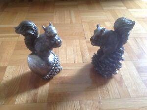 Écureuils décoratifs ( 2 )