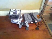 Mod chipped Playstation 1 with games an controller Bendigo 3550 Bendigo City Preview