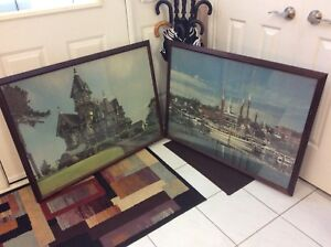 Framed Puzzle Pictures - 2