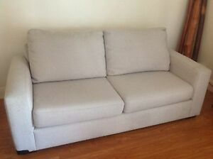 Two x two seater sofas in quality Warwick covers Elanora Heights Pittwater Area Preview