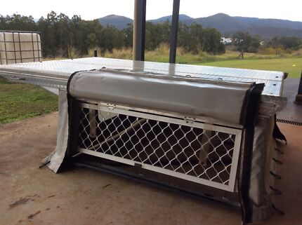 Toyota Hilux Canopy, False Floor w/ Drawers & Boat Carrier Atherton Tablelands Preview