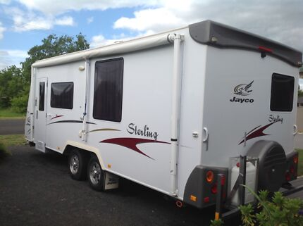 21ft Jayco Sterling with ensuite.
