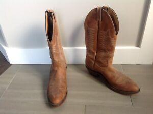 Men's Boulet Cowboy Boots, barely worn