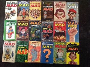 ( 40 ) MAD POCKET BOOKS