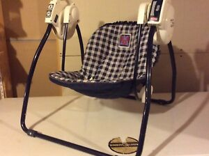 Swinging  (electrical assisted) chair