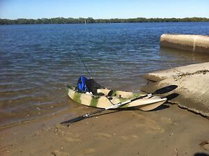 2.7m fishing kayak jungle camo Deception Bay Caboolture Area Preview