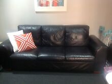 Modern leather Lounges 3 seater plus 2 seater Reedy Creek Gold Coast South Preview
