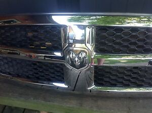 Chrome Dodge grill