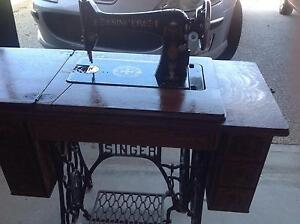 Singer treadle sewing machine Blackmans Bay Kingborough Area Preview