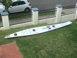 Surf ski- fitness/touring New Farm Brisbane North East Preview