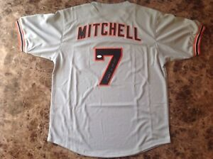 Kevin Mitchell Autographed Jersey w/ COA!