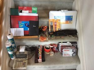 Various New/Used Office Supplies!  PRICE: $5