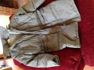 Down Filled Overcoat - mens-Large size.Great for a English winter