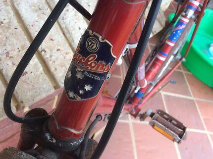 Vintage Ladies Bike Australian Retro