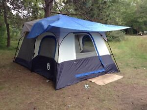 Coleman INSTANT tent 8 person cabin. $190 & Cabin Tent | Kijiji - Buy Sell u0026 Save with Canadau0027s #1 Local ...