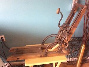 Antique Mortising Machine