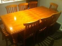 Solid Timber Dining Table & 8 Chairs Waterloo Inner Sydney Preview