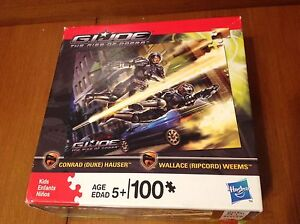 Puzzle Gi Joe The rise of Cobra, Duke and Ripcord, Hasbro