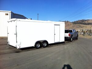 Require an enclosed car hauler to rent, 20' would be great.