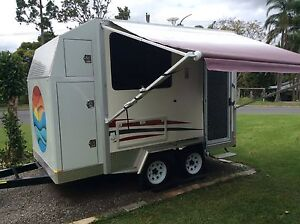 Caravan 2013 custom build, rigged for free camps, only used twice Dulong Maroochydore Area Preview