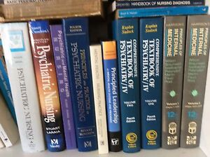 Psychiatric nursing texts and books Kangaroo Point Brisbane South East Preview
