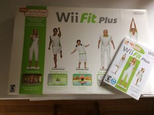 Console wii et wii-fit