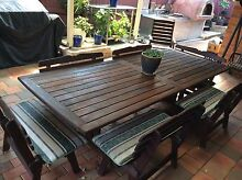 14 seater outdoor table & chairs setting Prestons Liverpool Area Preview
